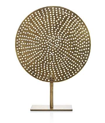 Brass Circle on Stand