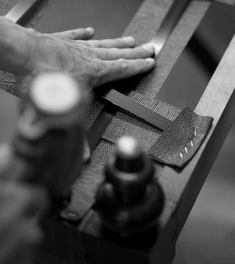 furniture being made by hand
