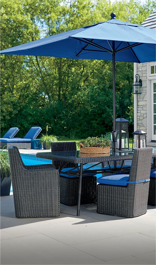 outdoor furniture and patio furniture sets crate and barrel