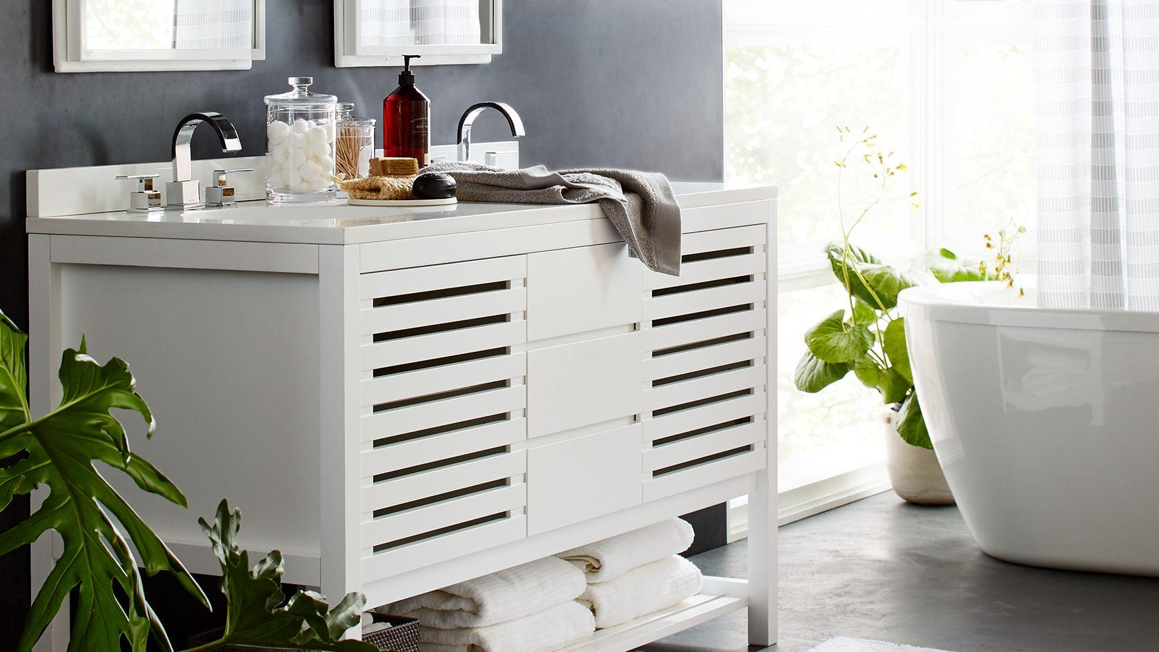 Bed and bath crate and barrel - Crate and barrel bathroom vanities ...