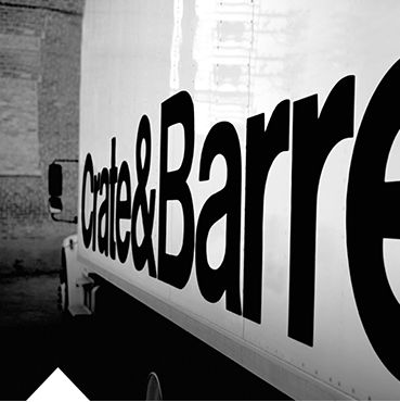 Picture of Crate and Barrel cargo truck