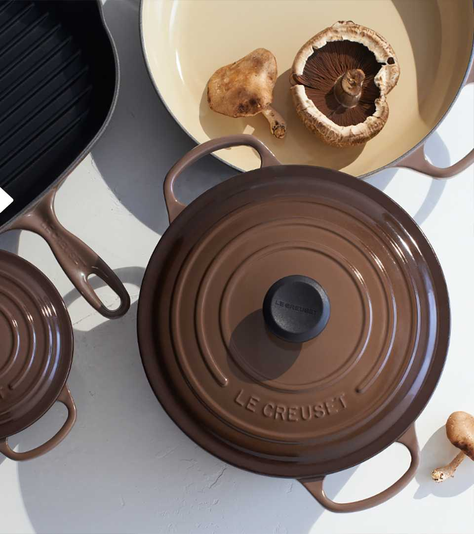 le creuset options