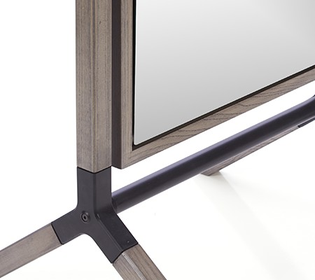 zoomed in photo of Malvern Cheval Floor Mirror