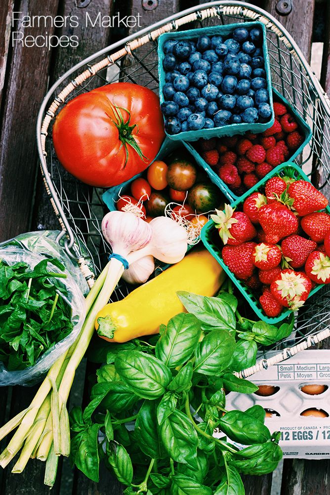 Farmers Market recipe ingredients