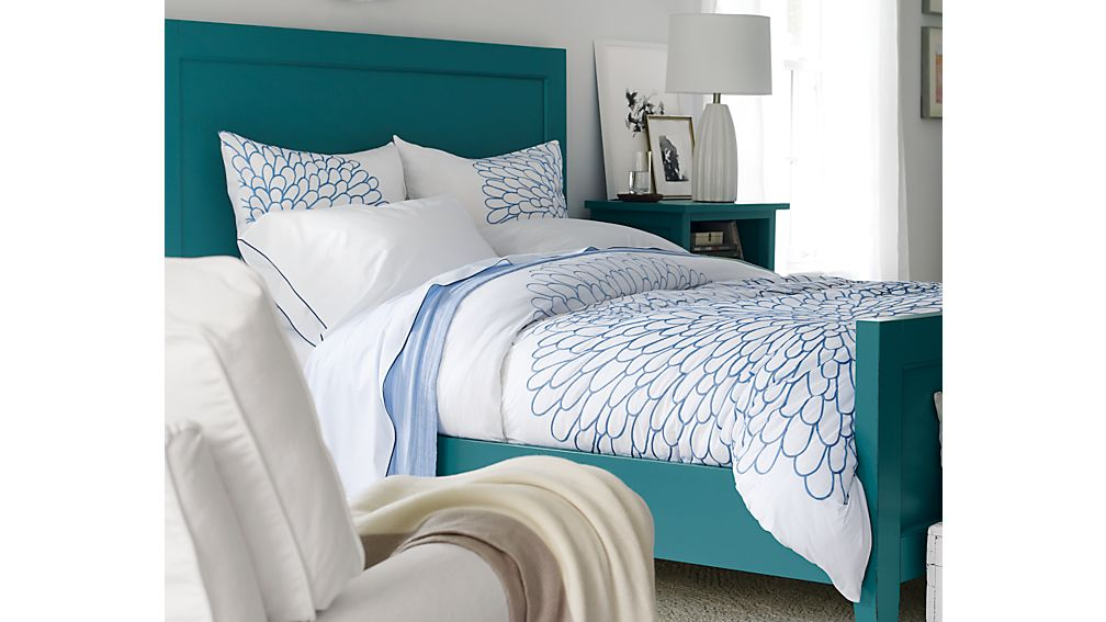 Harbor Blue King Bed