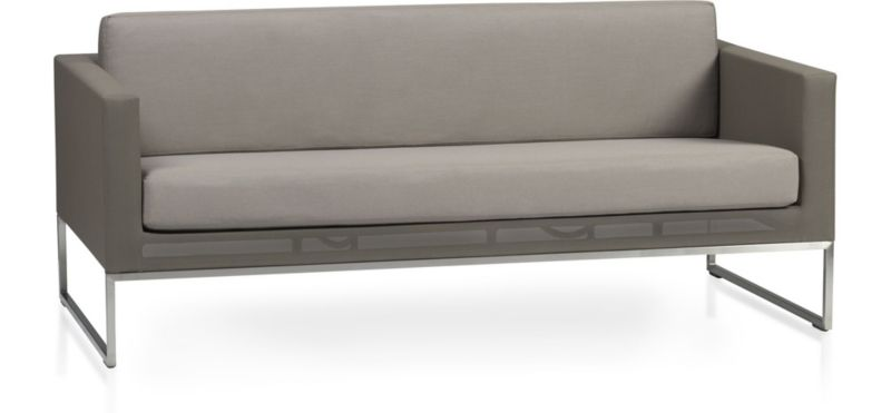 Dune Sofa With Sunbrella ® Cushions by Crate&Barrel