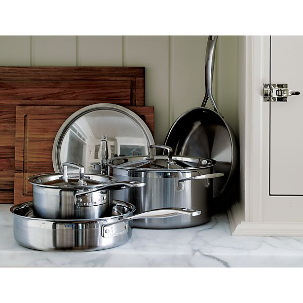Le Creuset ® Stainless Steel 7-Piece Cookware Set