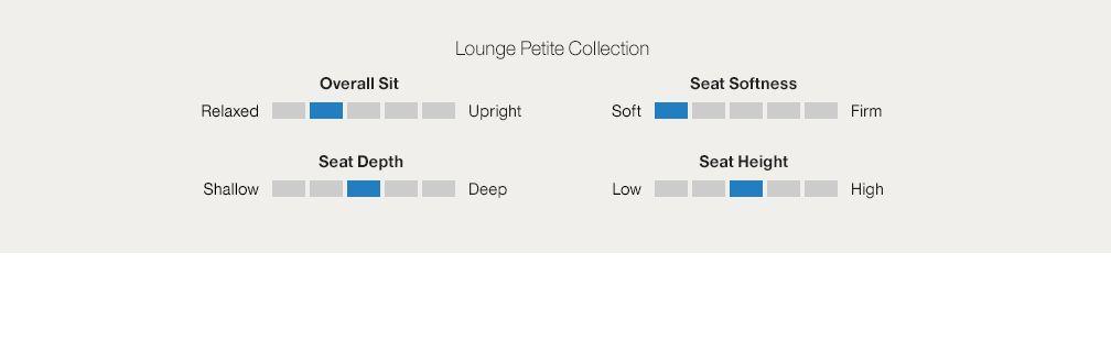Lounge Ii Petite Chaise Taft Truffle Crate And Barrel