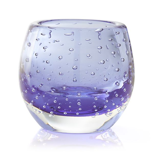 Pop Blue Candle Holder