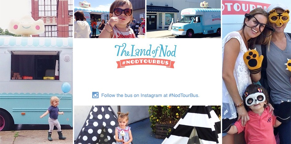 The Land of Nod Tour Bus