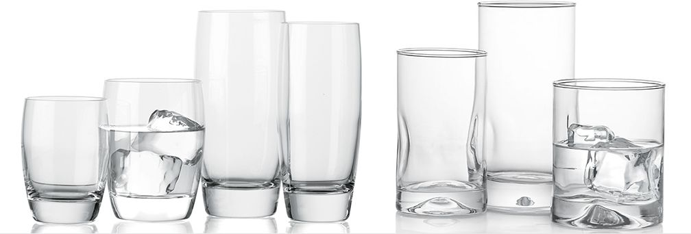 Otis and Impressions Drinking Glasses