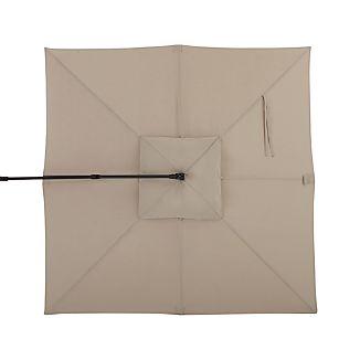 10' Stone Sunbrella ® Square Cantilever Umbrella Canopy