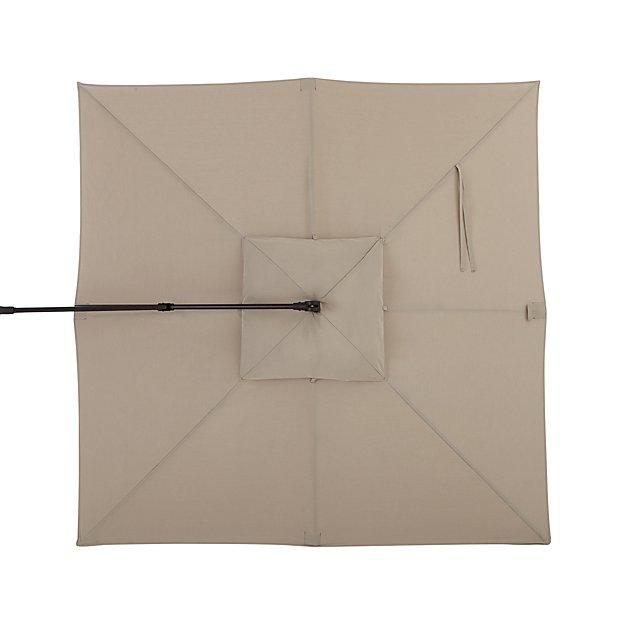 10' Stone Sunbrella ® Square Cantilever Umbrella Canopy - Image 1 of 2