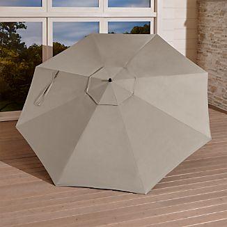 10' Stone Sunbrella ® Round Cantilever Umbrella Canopy