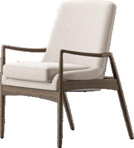 Ashton Midcentury Dining Arm Chair