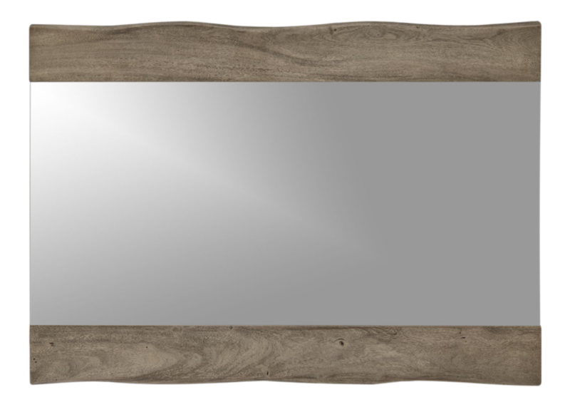 Yukon Grey Live Edge Wall Mirror