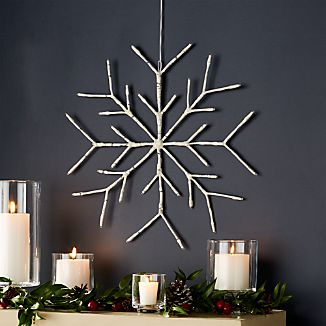 """LED 18"""" Snowflake"""