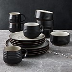 18th Street 16-Piece Dinnerware Set with Cereal Bowl