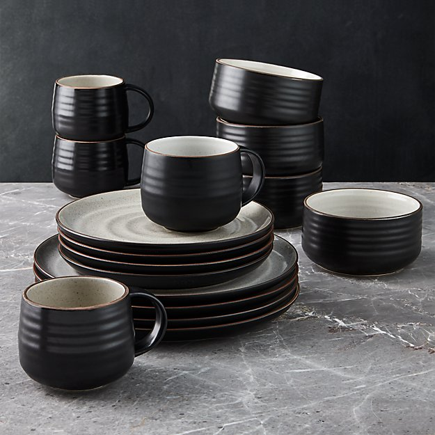 18th Street 16-Piece Dinnerware Set with Cereal Bowl - Image 1 of 4