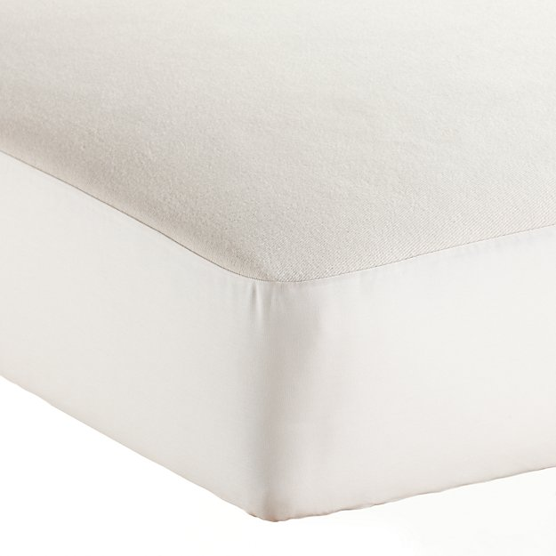 Organic Waterproof Crib Mattress Pad By Naturepedi