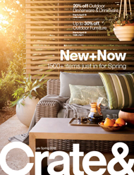 May 2018 Crate And Barrel April Catalog Cover
