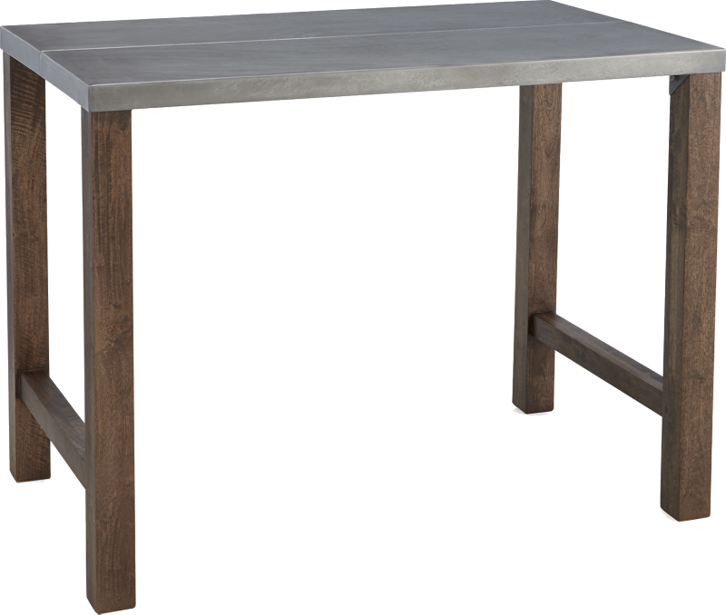 Galvin 48 Metal Top High Dining Table