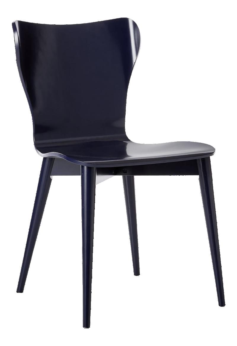 Brera Indigo Bentwood Dining Chair
