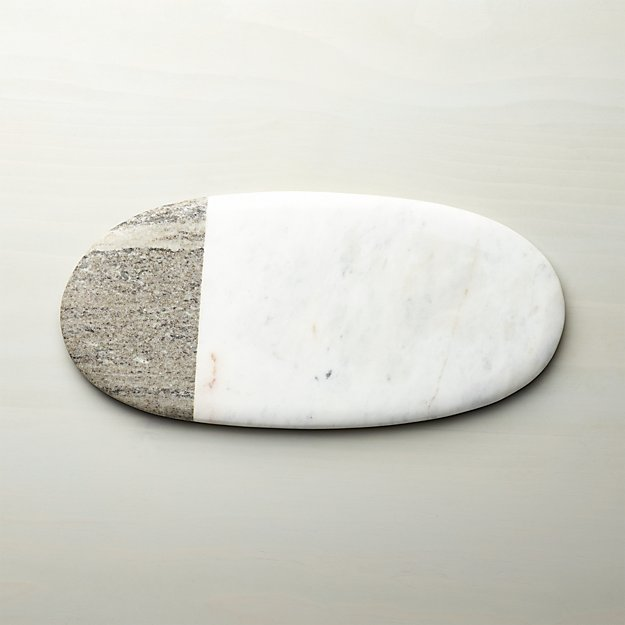2-Tone Large Marble Board - Image 1 of 13