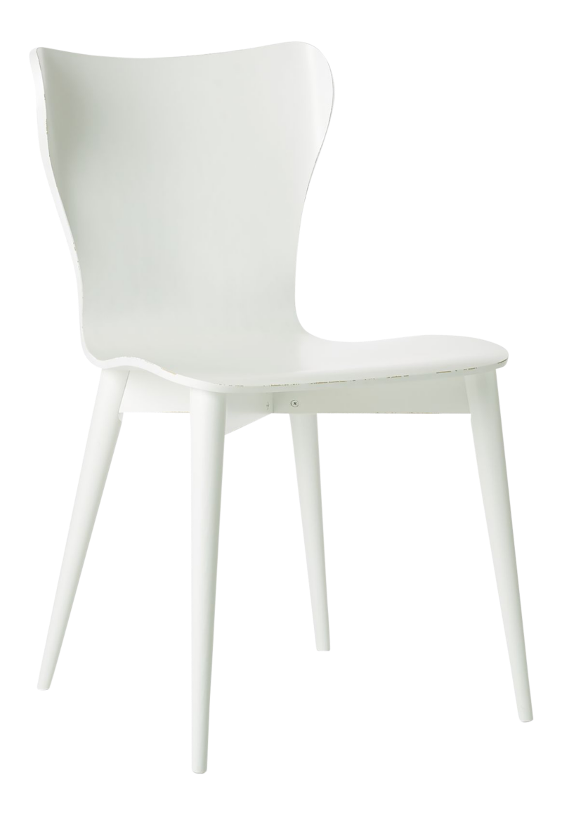 Brera White Bentwood Dining Chair