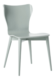 Brera Blue Grey Bentwood Dining Chair