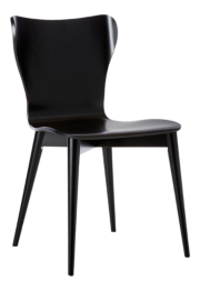 Brera Bruno Black Bentwood Dining Chair