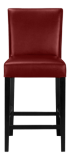 Lowe Red Leather Bar Stools