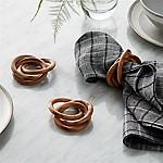 3-Ring Wood Napkin Ring