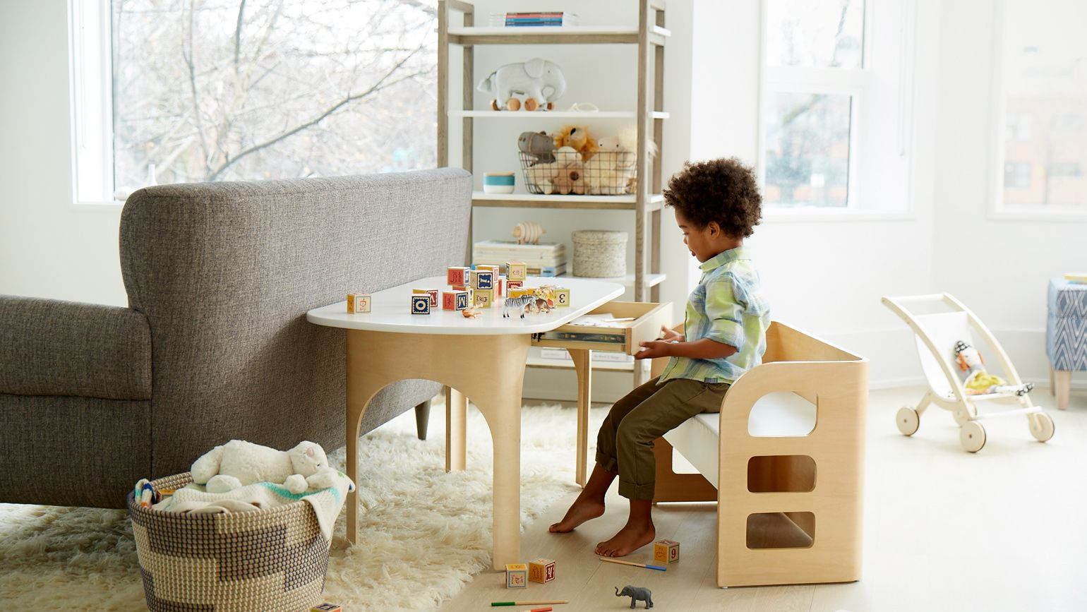 Kids furniture crate and barrel for Youth furniture