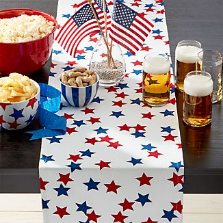 "4th of July 90"" Table Runner"
