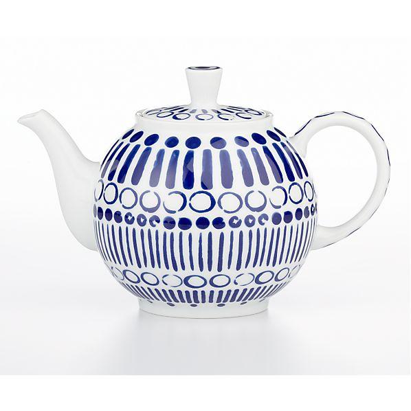 October Teapot by Jenny Bowers