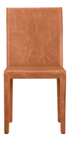 Folio Whiskey Top-Grain Leather Dining Chair