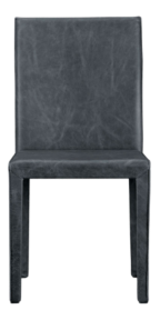 Folio Oceana Top-Grain Leather Dining Chair