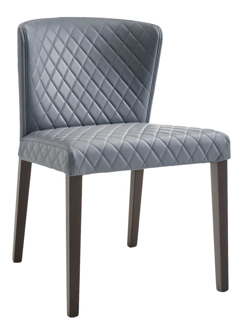Curran Quilted Granite Dining Chair