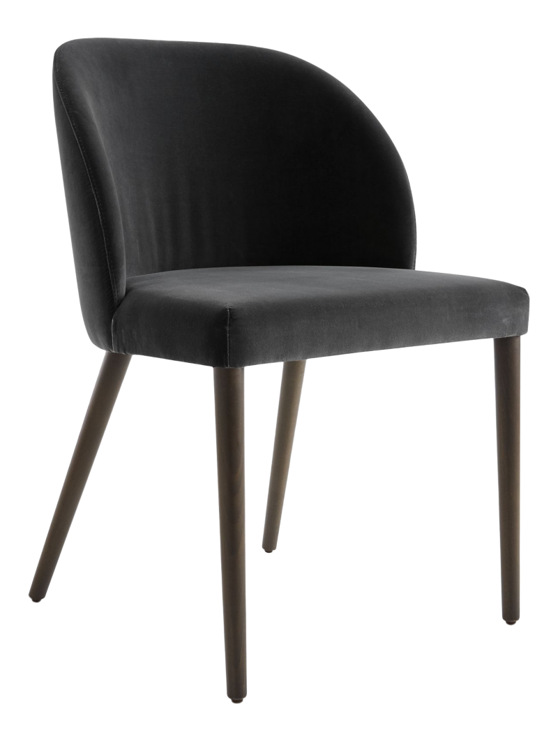 Camille Anthracite Italian Dining Chair