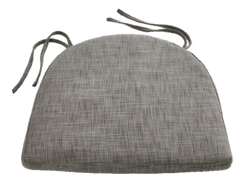 Maluku Grey Dining Side Chair Cushion