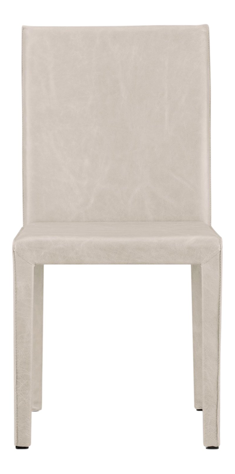 Folio Sand Top-Grain Leather Dining Chair