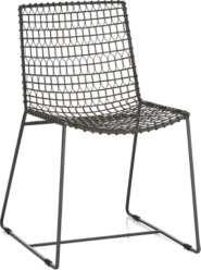 Tig Metal Dining Chair and Cushion