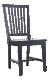 Village Indigo Wood Dining Chair