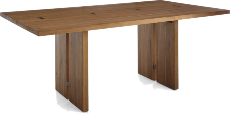 Monarch 76 Quot Natural Solid Walnut Dining Table Reviews