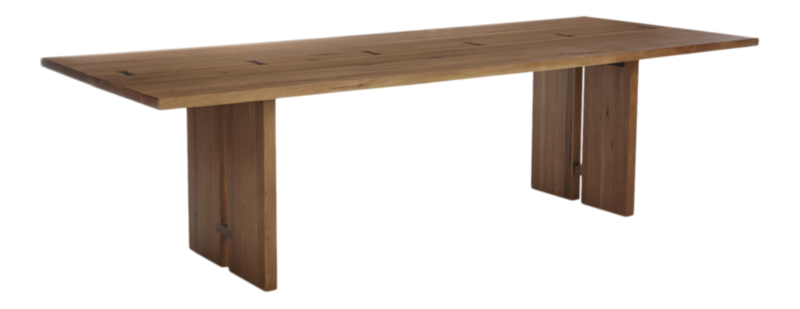 Monarch 108 Quot Natural Solid Walnut Dining Table Reviews
