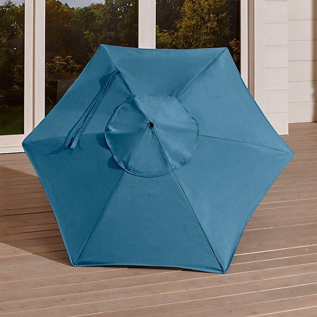 6' Round Sunbrella ® Sapphire Umbrella Canopy - Image 1 of 2