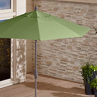 Limited Time Sale Outdoor Patio Umbrellas Crate And Barrel
