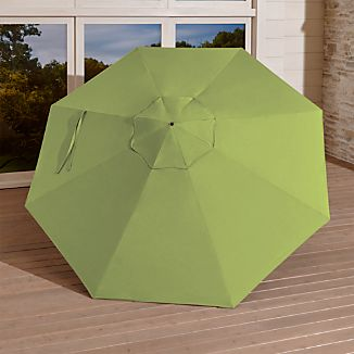 9' Round Sunbrella ® Kiwi Umbrella Canopy