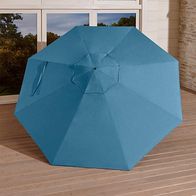 9' Round Sunbrella ® Sapphire Umbrella Canopy - Image 1 of 2